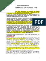 P. ARTE IX. Color en El Arte