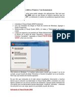 Activar Visual Studio 2008 en Windows 7 Sin Desinstalarlo