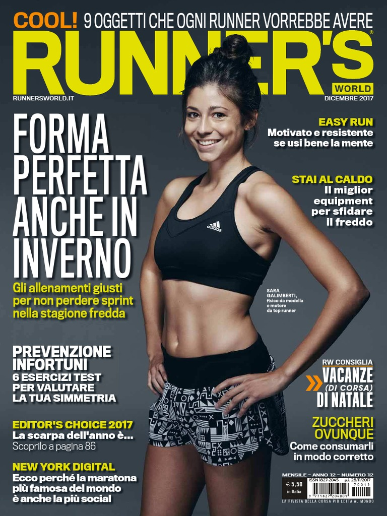Runner s World Italia Dicembre 2017 b0a153f82551