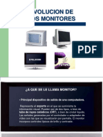 Diapositivas Evolucion de Monitores