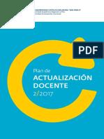 Plan de Actualizacion Docentes 2-2017