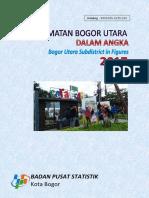 Kecamatan Bogor Utara Dalam Angka 2017