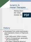 Psychodynamic Therapies (1)