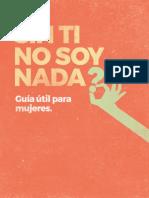 Sin Ti No Soy Nada_ Guía Útil Para Mujeres