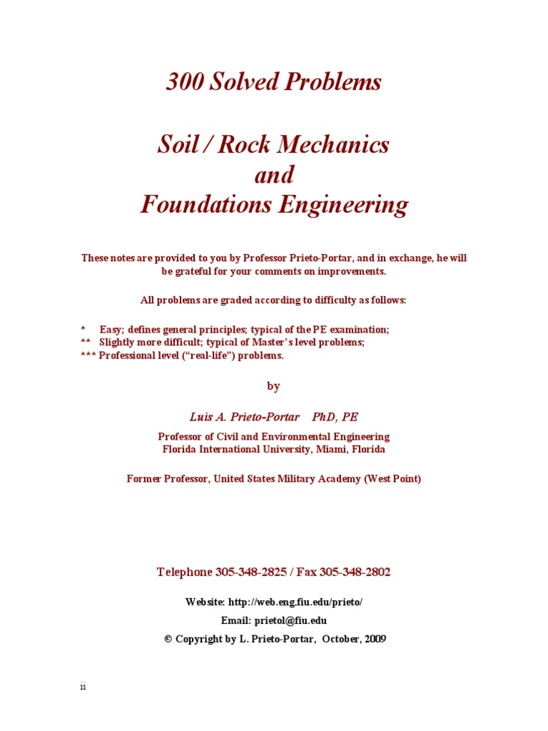 300_Solved_Problems_in_Geotechnical_Engineering.pdf | Deep Foundation |  Foundation (Engineering)