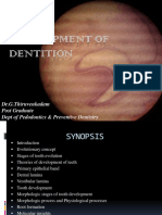 Development of Dentition -Final