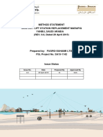 Fugro - Method Statement_for Geotechnical Investigation