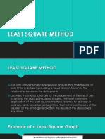 Least Square Method