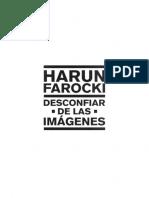 Farocki Harun Desconfiar de Las Imagenes