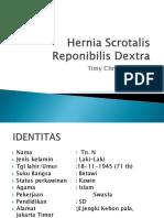 Hernia Scrotalis Reponibilis Detra