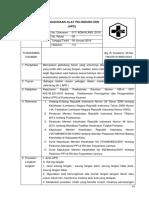 17. Sop Penggunaan Alat Pelindung Diri (Apd)