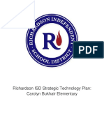 technology strategic plan for carolyn bukhair