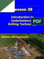Underbalanced Drilling