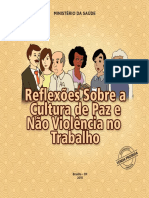 Reflexoes Cultura Paz Nao Violencia Trabalho