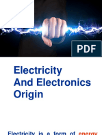 Intro and History electricity