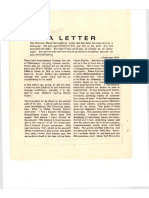 The Life Eternal 1980- A LETTER
