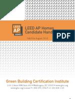 LEED AP Homes Candidate Handbook 2010.sflb