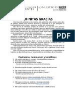Resumen de Gestion Fabián Ríos -
