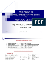 Sesion Nº 02  albañileria estructural