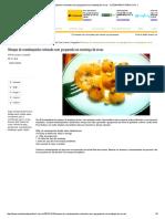 Nhoque de Mandioquinha Recheado Com Gorgonzola Na Manteiga de Ervas