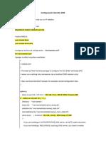Configuración Servidor DNS Linux centos