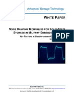 Noise Damping Techniques for Solid-state Storage in Military-embedded Systems