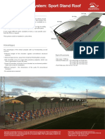 Technical Sheet Sport Stands Roof