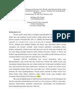 Muflihana Dwi Faiqoh_Analisis 7 Kriteria Teks Pidato Joko Widodo