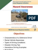 Driving Hazard Awareness