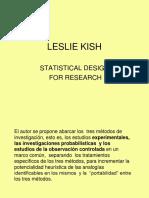Leslie - Muestreo