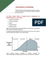 El Ciclo de Vida Del Producto en Marketing Lectura (1)