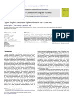 Digital Droplets Microsoft SkyDrive Forensic Data Remnants [2013