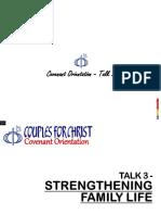 Covenant Orientation - Talk No. 3