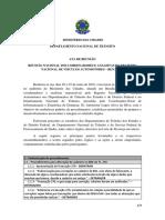 Ata Da Reunião Nacional Do RENAVAM 1ª-2016