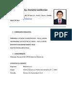 CV Darwin Tapia