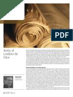 Josep Boira, Jesús, El Cordero de Dios, Palabra Mayo 2017, 652 p.54-55
