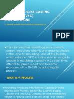 Vacuum Process Casting (v-Process)