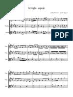 Arreglo Espejo - Partitura Completa1