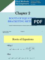 2CHE 555 Bracketing Methods (Students)