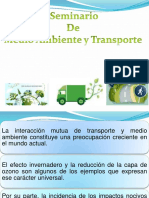 Seminario  de Medio Ambiente y Transporte