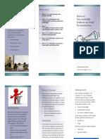 oral presentation brochure pdf