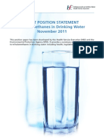 EPA HSE Joint Position Statement on TriHalomethanes in Drinking Water November 2011