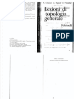 Lezioni Di Topologia Generale- Checcucci, Tognoli, Vesentini