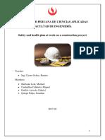 Plan de Seguridad y Salud en Proyecto de Construcción