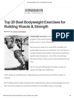 Top 20 Bodyweight Exercises For Building Muscle & Strength.pdf