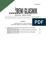 Sluzbeni Glasnik Grada Mostara Broj 15_2017