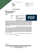 Oficio Solicito Derivar Expediente Al Area de Coordinación Tecnica Convenio Santa Cruz de Andamarca
