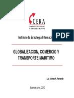 FERRANDO - Globalizacion, Comercio y Transporte Marítimo