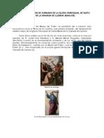 Los Cuadros vendidos de Zurbarán de La Iglesia Parroquial de Santa María de La Granada de Llerena (Badajoz)