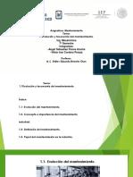 1.-Evolucion y Taxonomia de Mantenimiento